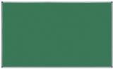Tabla verde magnetica pentru creta, suprafata emailata, rama aluminiu, 200 x 120 cm Rocada