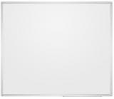 Whiteboard magnetic suprafata emailata, fata dubla, rama aluminiu, 120 x 90 cm Rocada