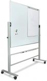 Suport mobil pentru whiteboard, reglabil pe inaltime, rotire 360 grade, lungime 120 cm Rocada