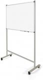 Suport mobil universal pentru whiteboard, rama aluminiu, sistem de blocare roti, Rocada