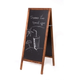 Panou stradal tip A-Board, pentru scris cu creta , 120 x 50 cm Rocada