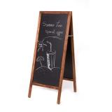 Panou stradal tip A-Board, pentru scris cu creta , 90 x 50 cm Rocada