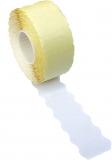 Rola pret 22 x 12 mm 500 etichete/rola alba