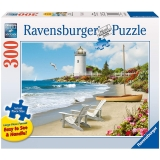 Puzzle Plaja, 300 Piese Ravensburger