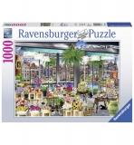 Puzzle Piata de flori In Amsterdam, 1000 Piese Ravensburger