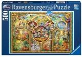 Puzzle Familia Disney, 500 Piese Ravensburger
