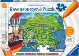 Puzzle Tiptoi Harta, 100 Piese Ravensburger