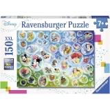 Puzzle Baloane Personaje Disney, 150 Piese Ravensburger