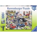 Puzzle Patrula De Politie, 100 Piese Ravensburger