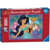 Puzzle Disney Printesa Jasmine, 100 Piese Ravensburger