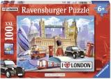 Puzzle Londra, 100 Piese Ravensburger