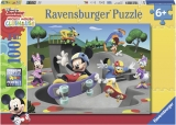 Puzzle Mickey Cu Skateboard, 100 Piese Ravensburger