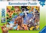 Puzzle Portret Cu Animale, 200 Piese Ravensburger