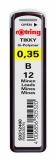 Mine 0.35 mm B Rotring