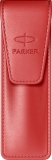 Etui economic Leather Red Parker