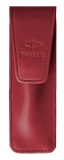Etui economic dark red Parker