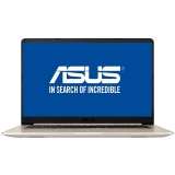 Ultrabook ASUS VivoBook 15.6 inch S510UA, Procesor Intel® Core™ i7-8550U up to 4.00 GHz, 8GB DDR4, 256GB SSD, GMA UHD 620 Gold Metal