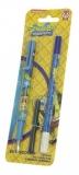 Stilou penita iridium + 1 corector + 2 rezerve Sponge Bob Pigna