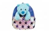 Ghiozdan fete pentru gradinita Baby Animals Blue Bear S-Cool