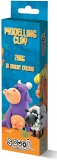 Plastilina, 200 g, cutie carton, 10 culori/set S-Cool