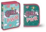 Penar echipat 32 piese, 2 extensii, 1 fermoar, Girl Power S-Cool