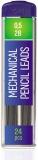 Mine 2B creion mecanic, 0.5 mm, 24 buc/set S-Cool