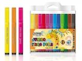 Carioci 12 culori Jumbo S-Cool