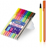 Fineliner 0.4 mm 10 culori/set S-Cool