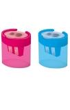 Ascutitoare cu container, 2 gauri, SC333, diverse culori S-Cool