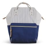 Geanta Fashion Classy albastru marin-gri deschis S-Cool