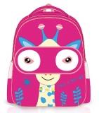 Ghiozdan fete pentru gradinita si clasa 0 Giraffe Pink S-Cool