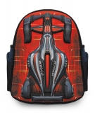 Ghiozdan gradinita si clasa 0 3D rosu Racing Car S-Cool