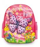 Ghiozdan gradinita si clasa 0 3D Butterfly S-Cool