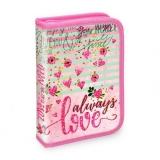 Penar pentru fete, echipat, cu 1 fermoar si 2 extensii, Post Card Love S-Cool
