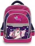 Ghiozdan scolar 16 inch Happy Kids Unicorn 3 compartimente S-Cool