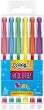 Pix cu gel Neon 6 buc/set S-Cool