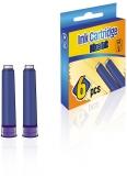 Patroane mici, cerneala albastra, cutie, 6 buc/set S-Cool