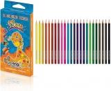 Creioane colorate flexibile Flexy 24 culori/set S-Cool