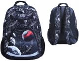 Ghiozdan scolar Red Planet, cu 3 compartimente S-Cool