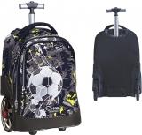 Troller scolar Team Leader, 2 roti siliconice supradimensionate S-Cool