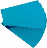 Separator C7 carton 160 gr, albastru, 100 buc/set