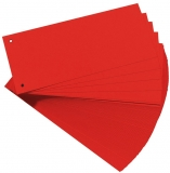 Separator C7 carton 160 gr, rosu, 100 buc/set