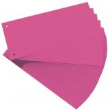 Separator C7 carton 160 gr, roz, 100 buc/set