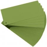 Separator C7 carton 160 gr, verde, 100 buc/set