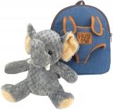 Ghiozdan gradinita, neechipat, Baby Animals Elephant S-Cool