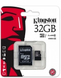 Card de memorie MicroSDHC, 32 GB, Class 10 + Adaptor Kingston