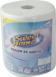 Prosoape Jumbo alb, 2 straturi, 700gr, 110 m Sweet Home