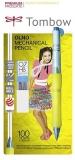 Creion mecanic 0.7 mm, Olno, Yellow/Turquoise Tombow