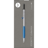 Creion mecanic Zoom 717, 0.5 mm, Chrome/Blue BT Tombow