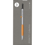 Creion mecanic Zoom 717, 0.5 mm, Chrome/Orange BT Tombow